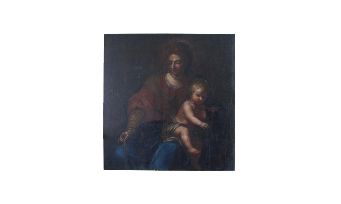 dipinti-Madonna-del-Rosario - Albergo dei Poveri Genova