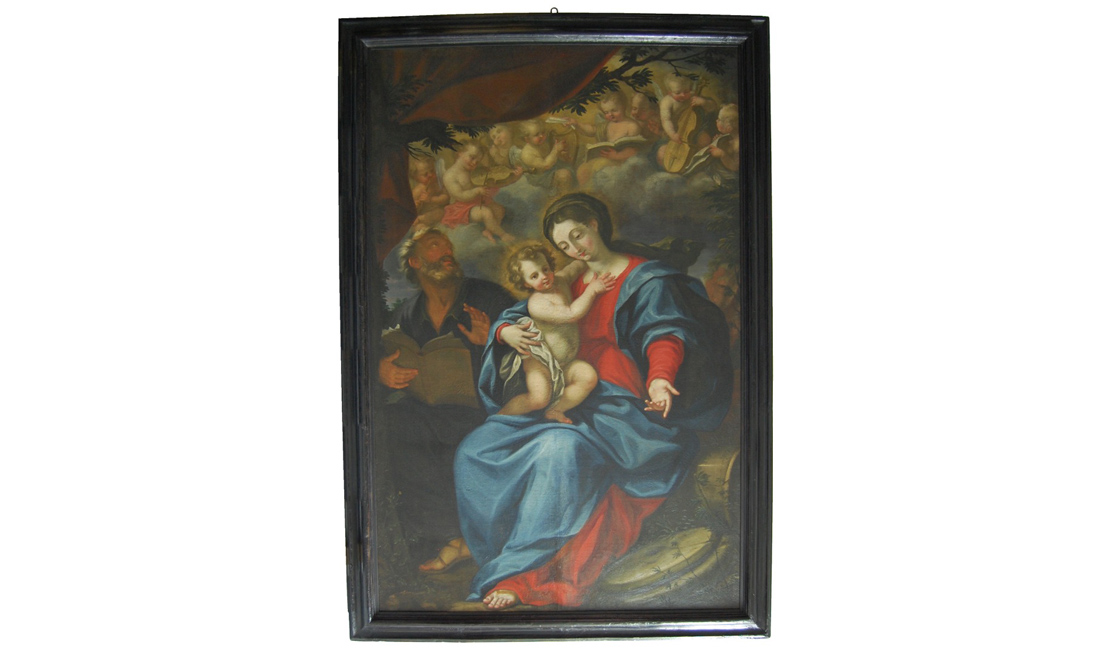 dipinti-Sacra-Famiglia - Albergo dei Poveri Genova