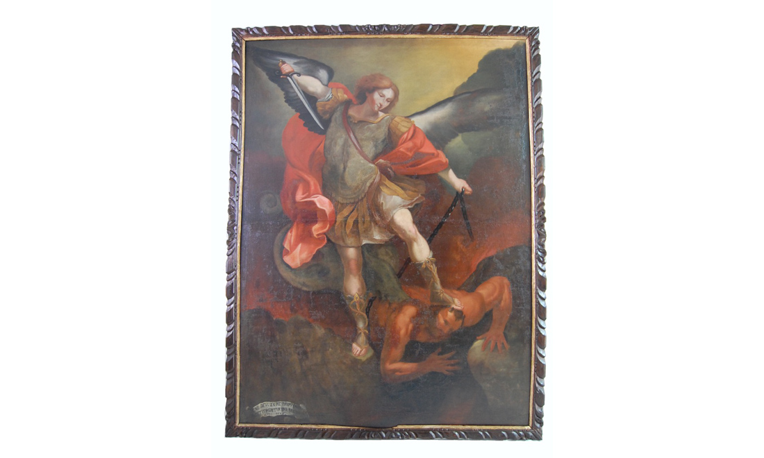 dipinti-San-Michele-Arcangelo - Albergo dei Poveri Genova