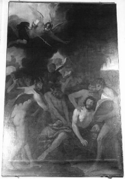 Morte del peccatore - Giovanni Andrea De Ferrari- Albergo dei Poveri Genova