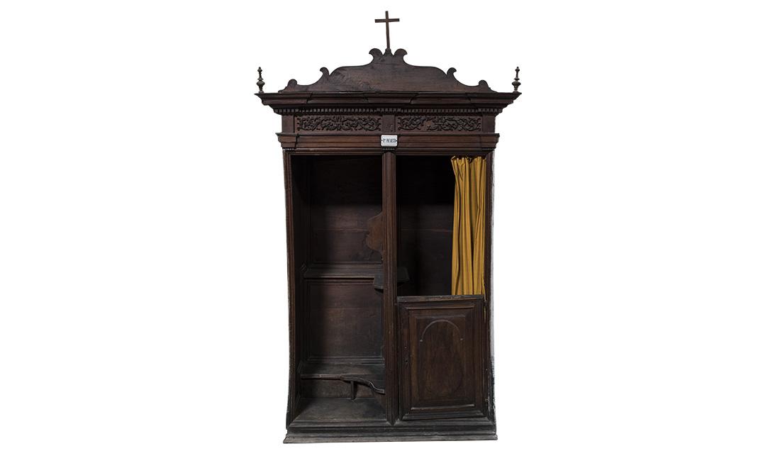 mobili-confessionale_01 - Albergo dei Poveri