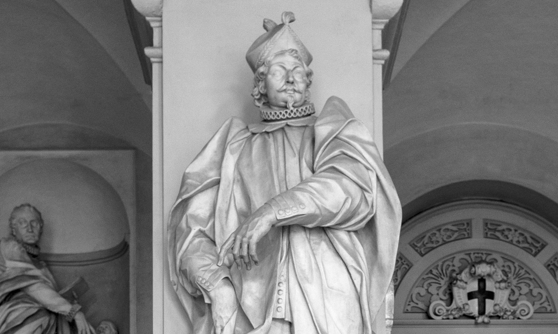 statua_joanni-francisco-invrea - Albergo dei Poveri Genova
