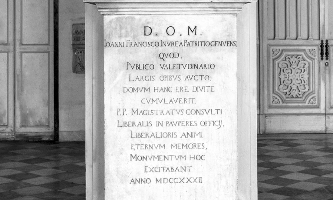 statua_joanni-francisco-invrea_03 - Albergo dei Poveri Genova