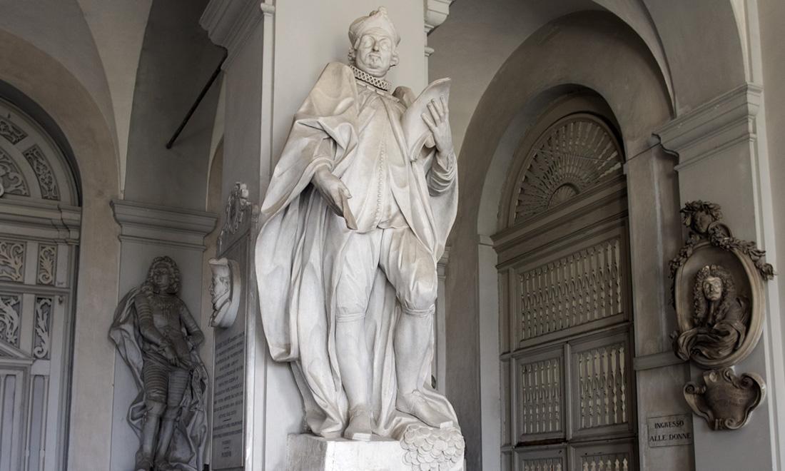 statue_ambrosio-carmagnola_04 - Albergo dei Poveri Genova