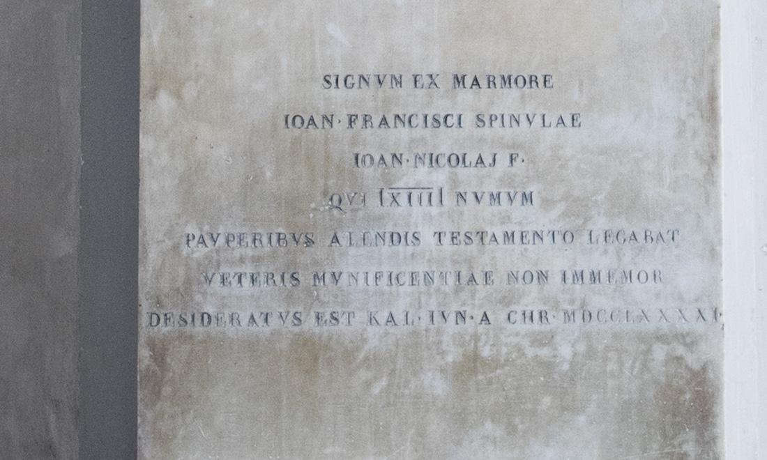 statue_ioan-francisci-spinulae_02 - Albergo dei Poveri Genova