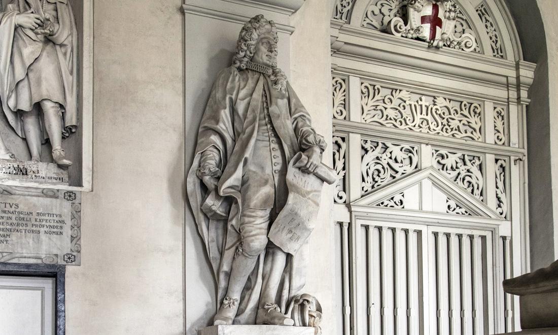 statue_ioanni-dominico-spinulae_01 - Albergo dei Poveri Genova