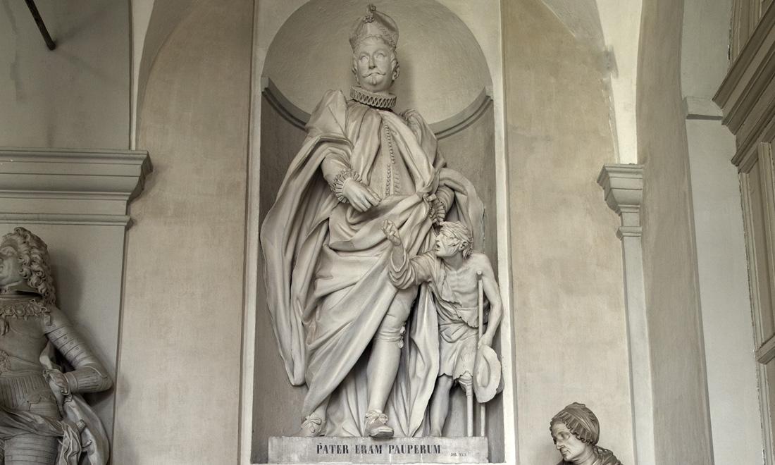 statue_joannem-franciscum-granellum_04 - Albergo dei Poveri Genova