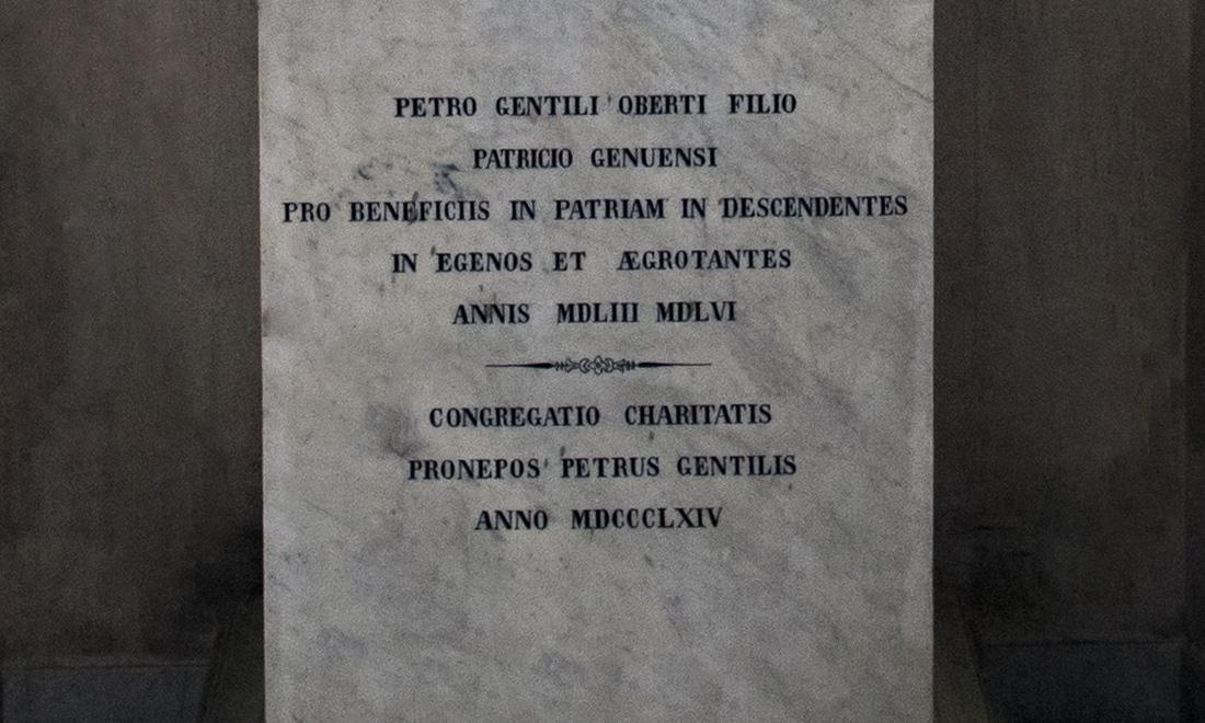statue_petro-gentili-oberti-filio_03 - Albergo dei Poveri Genova