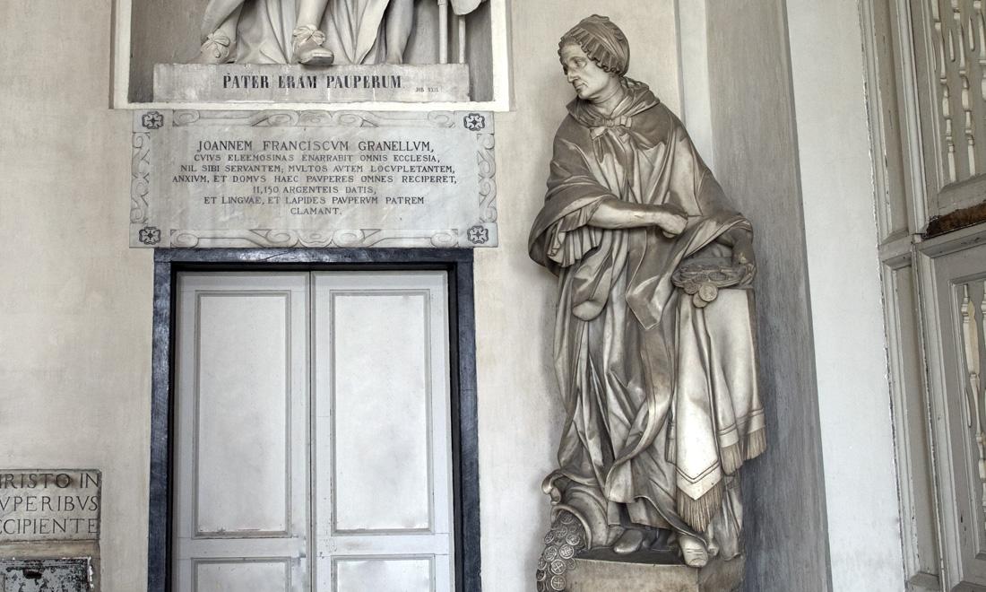 Statua Albergo dei Poveri
