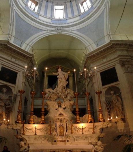 Albergo dei Poveri di Genova, altare della chiesa interna