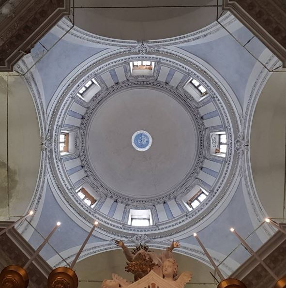 Albergo dei Poveri di Genova, cupola della chiesa interna