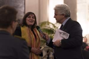 L'assessore regionale Sonia Viale all' Albergo dei Poveri di Genova