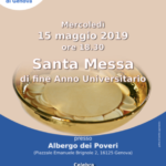 Santa Messa di fine anno Universitario
